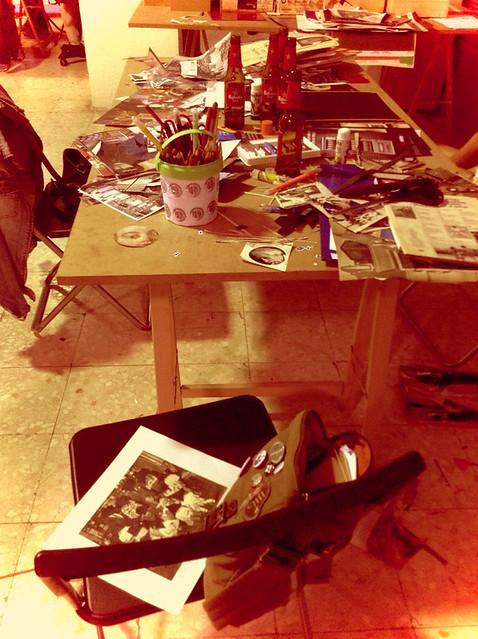 Mesa de creación