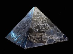pyramid, crystal,