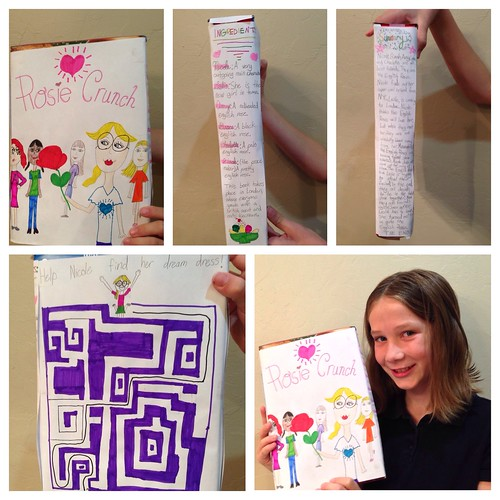 The English Rose is The New Girl (cereal box book report) – Learning ...