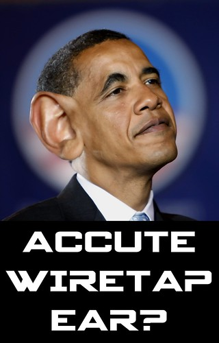 SUSPECTED CASE OF ACCUTE WIRETAP EAR? by WilliamBanzai7/Colonel Flick