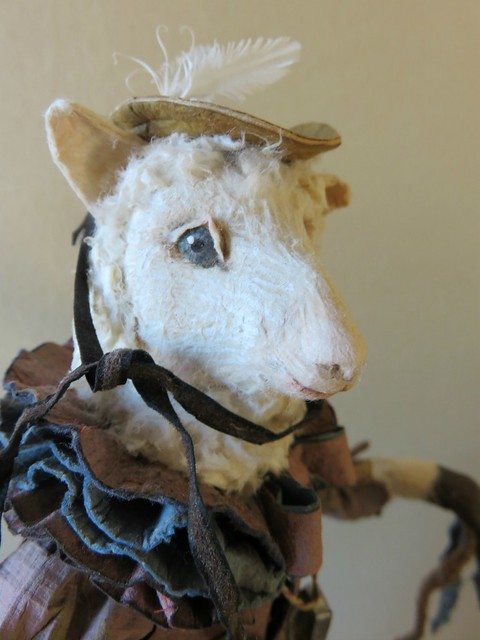 Lost in the Woods - Sheep Paper Sculpture
