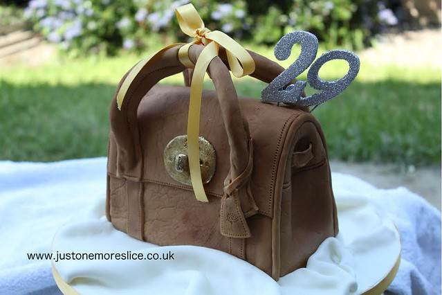 Handbag Cake by Just One More Slice - Celebration Cakes