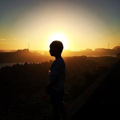 南無南無( ˘ω˘ ) #sunset