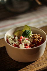 Wassermelonen - Feta Salat
