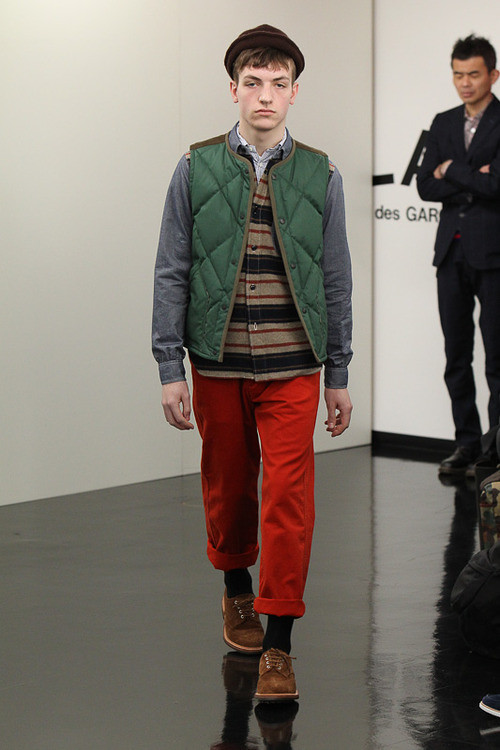 FW13 Tokyo COMME des GARCONS HOMME004_Marcel @ ACTIVA(Fashionsnap)