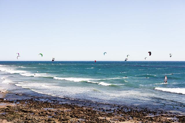 malibu kite surfing