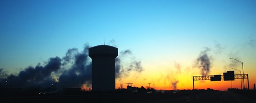 morning sunrise watertower clear aegonlake