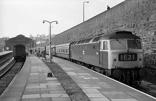 BR Class 47 1694, Penzance, circa 1971/72