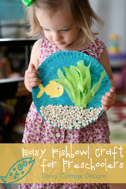 Daisy Cottage Designs | Easy Fishbowl Craft for Preschoolers