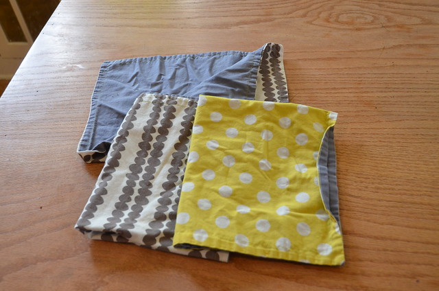 Angel: Fat Quarter napkins