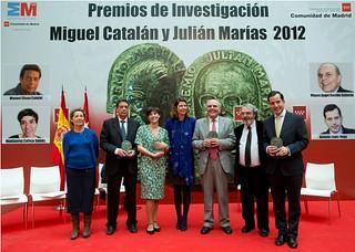 lucia figar en los premios de investigacion