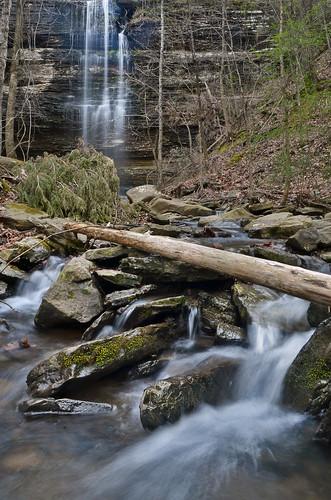 water waterfall log stream falls arkansas cascade hebersprings corneliusfalls jekaworldphotography jefrosephotography