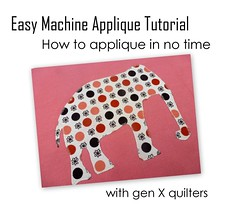 Easy Machine Applique Tutorial