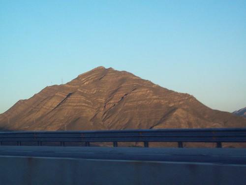 Striped mountain, Mexico