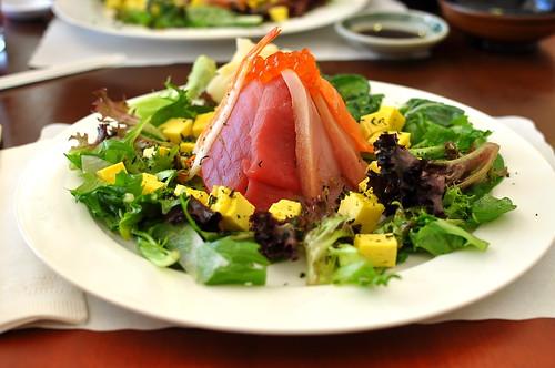 Lunch Special Chirashi at Sushi Kimagure - Pasadena