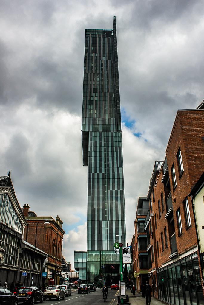 Beetham Tower de Mánchester, Reino Unido.