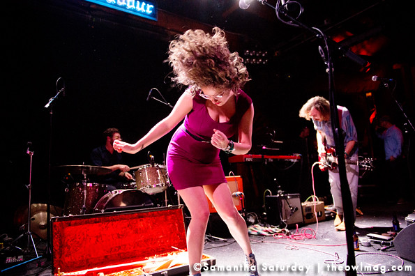 Sallie Ford and the Sound Outside @ Troubadour, Hollywood 04-08-2013-16