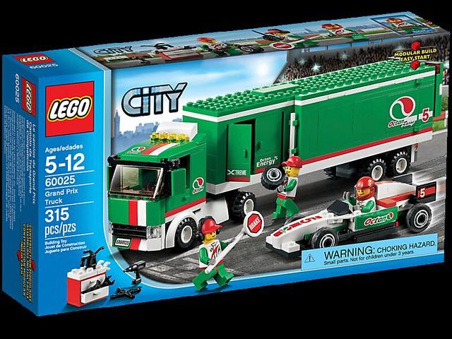 LEGO City 60025 - Grand Prix Truck - BoxArt