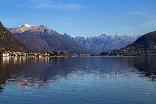 Lago d'Orta - Girolago Orta-Pella, un luminiso mattino di Aprile...