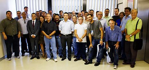 Solenidade de Posse da Diretoria e dos Delegados Sindicais - 13/12/12