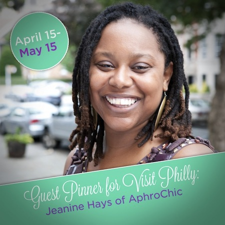 Jeanine Hays Visit Philly Guest Pinner