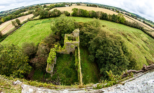 ireland green castle cork ruin irland 450d