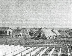 African American CCC Camp Under Construction: 1934