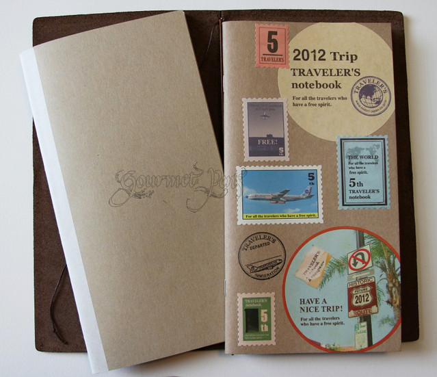 Midori Kraft Refill & Travel Notebook in Traveler's Notebook