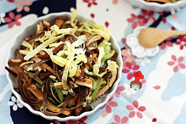 涼拌芹菜干絲 Celery with bean curd 2