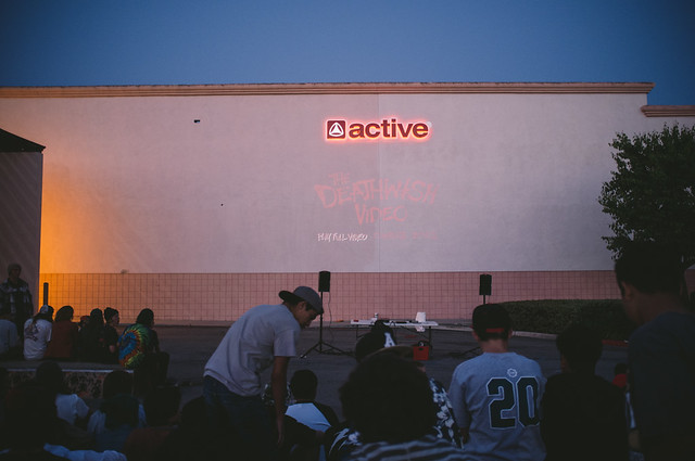 Deathwish Video Premier @ Active Chino!
