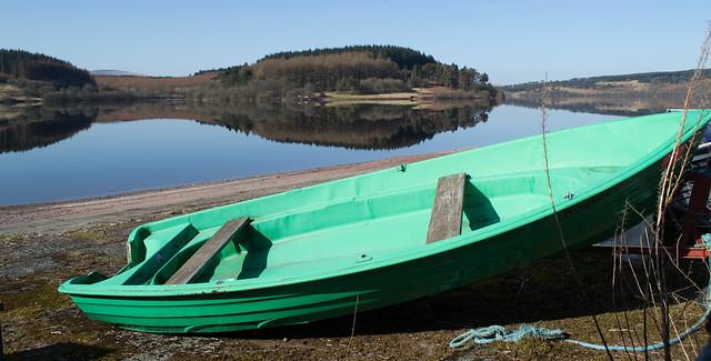 Green Boat & Reservoir