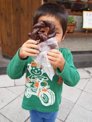 チョコドーナツ 大須ベーカリー