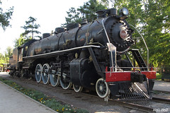 Locomotora 1110 - Locomotive 1110 | Museo Ferroviario - Railway Museum (Santiago)