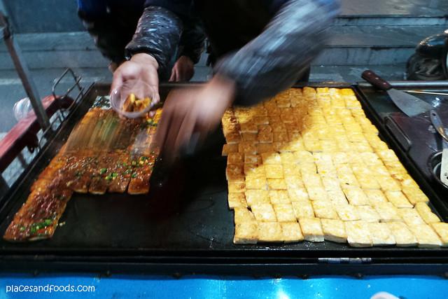 nanning street food bbq taufu