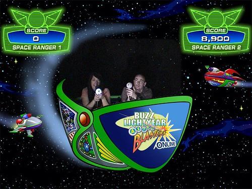 disneyland: buzz lightyear astro blasters