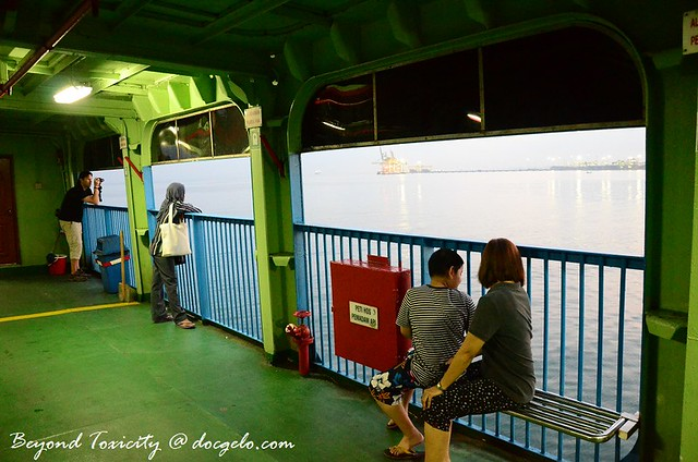 ferry, george town, penang, malaysia