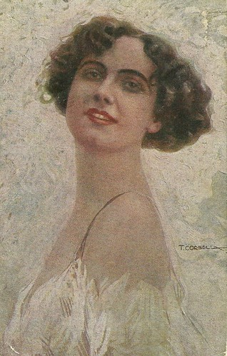 Francesca Bertini by Tito Corbella