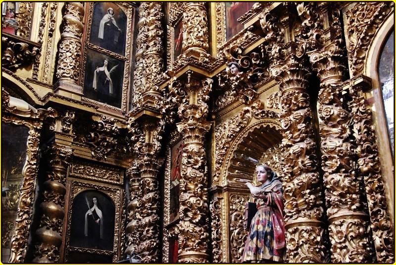 Templo del Exconvento Carmelita de la Soledad,Parroquia del Sagrario Metropolitano,Puebla de los Ángeles,México