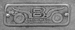 Briscoe Mfg badge