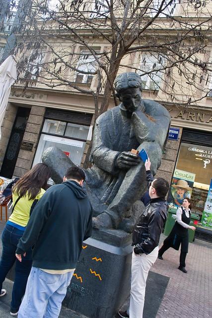 Tesla Statue | Zagreb, Croatia