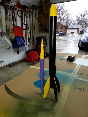 2013-04-21 Model Rockets