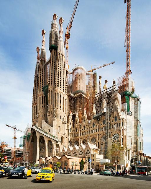 Barcelona Spain: La Sagrada Familia