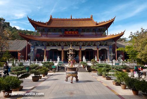 Qiongzhu Temple a Kunming