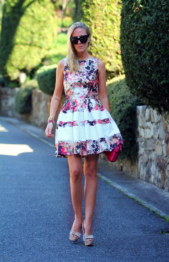 STYLE LOVER FLORAL DRESS
