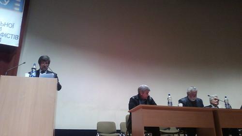 23 апреля в Киеве состоялся ХII от основания и V очередной съезд Национального союза кинематографистов Украины. Предлагаем Вам два взгляда на съезд. 1 - из Киева