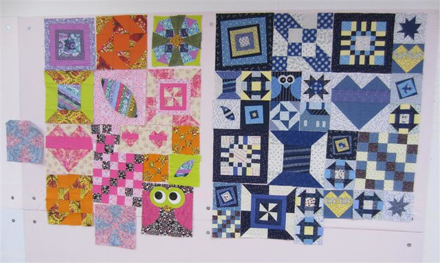 Linda's and Marcia's Blocks