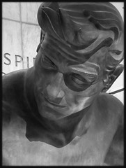 "Detail, ""Spirit of Detroit,"" Coleman A Young Municipal Center--Detroit MI"