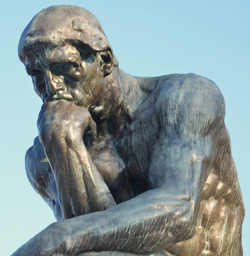 The Thinker at the Cleveland Museum of Art