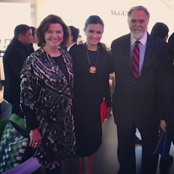 With Kohler's Chairman & CEO Herbert V. Kohler Jr and wife Natalie at #Kohler's 140th anniversary party in Wisconsin.