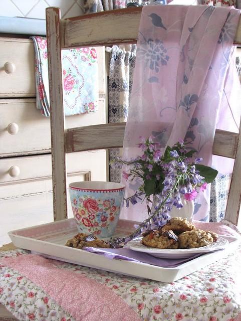 Cookies con Gocce di Cioccolato, Bacche di Goji e Noci di Macadamia